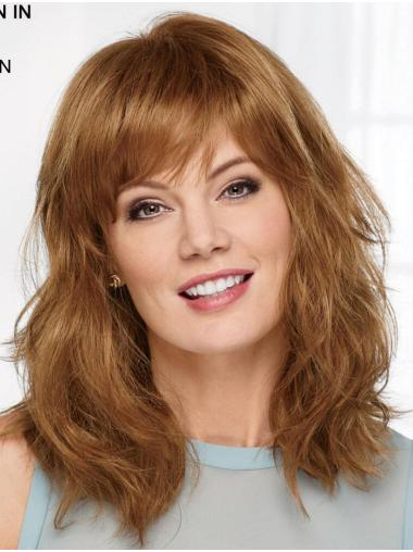 "Auburn 14"" With Bangs High Quality Capless Synthetic Wigs"