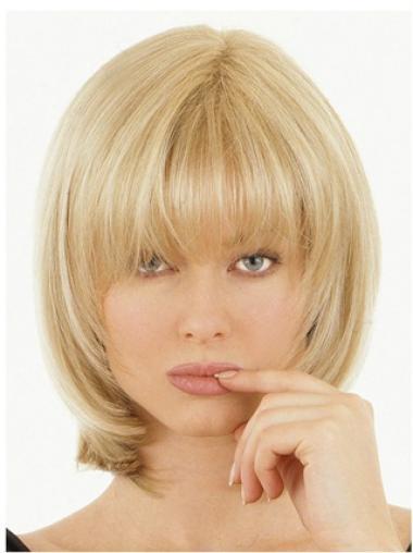 Amazing Blonde Straight Hair Falls & Half