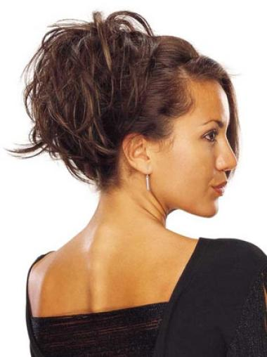 Stylish Brown Synthetic Wraps/Buns