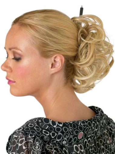 Top Blonde Synthetic Hairpieces