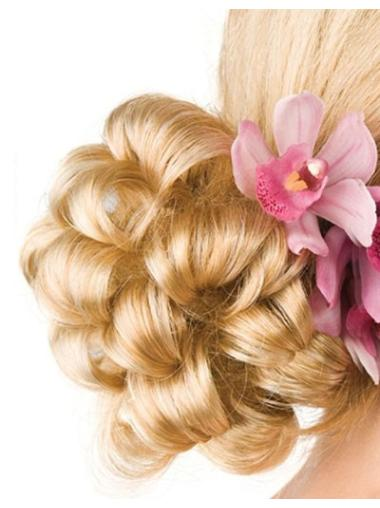 Gentle Blonde Synthetic Wraps/Buns