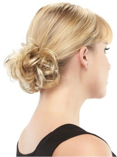 Incredible Blonde Synthetic Wraps/Buns