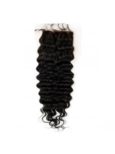 Radiant Black Wavy Long Lace Closures