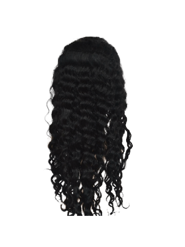 Pleasing Black Wavy Long Kylie Jenner Wigs