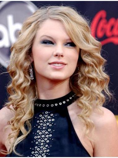 Fabulous Blonde Curly Long Taylor Swift Wigs