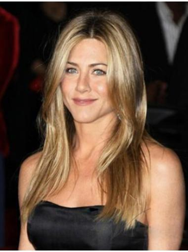 Perfect Blonde Straight Long Jennifer Aniston Wigs