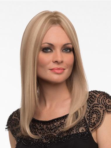 Monofilament Blonde Straight Amazing Full Lace Wigs
