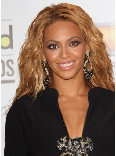 Gentle Brown Wavy Long Beyonce Wigs