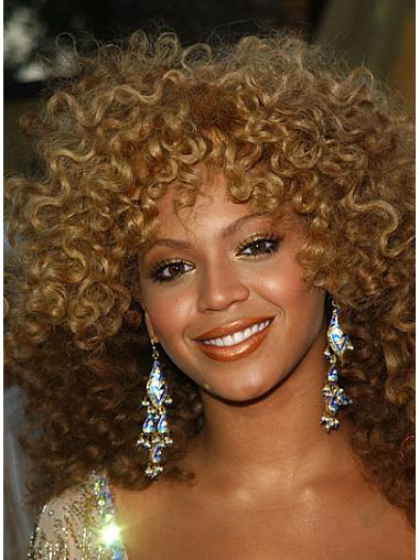 Lace Front Blonde Curly Fashion Beyonce Wigs