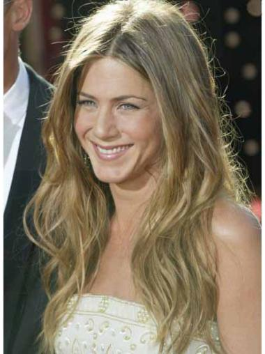 Lace Front Blonde Wavy Modern Jennifer Aniston Wigs
