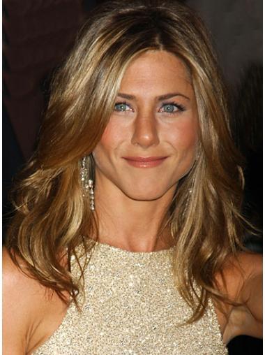Suitable Blonde Wavy Long Jennifer Aniston Wigs