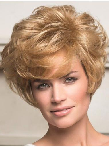 Lace Front Blonde Wavy Best Human Hair Lace Front Wigs