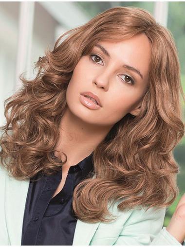 Great Auburn Wavy Long Glueless Lace Wigs