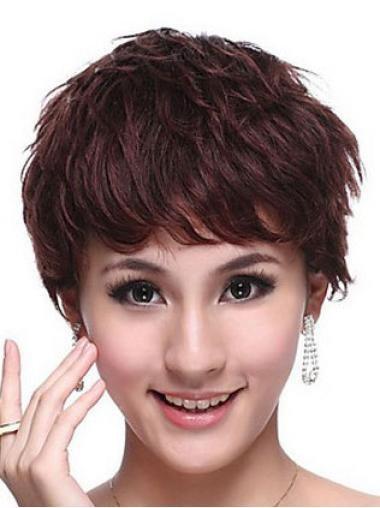 Great Wavy Boycuts Short Wigs