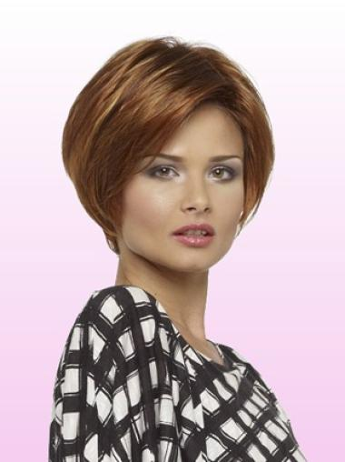 Lace Front Auburn Straight Fashionable Wigs