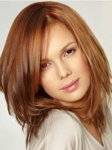 Lace Front Auburn Straight Preferential Celebrity Wigs