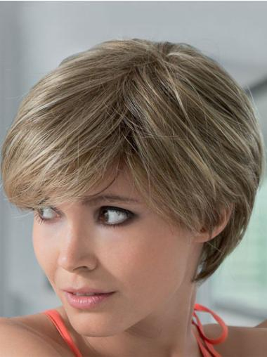 Lace Front Blonde Straight Style Remy Human Lace Wigs