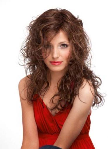 Hairstyles Auburn Curly Long Wigs