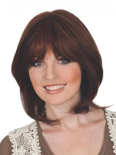 Lace Front Auburn Straight Graceful Wigs