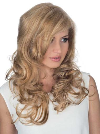 Lace Front Blonde Curly Fashion Remy Human Lace Wigs