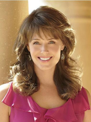 Fashion Brown Wavy Long Classic Wigs