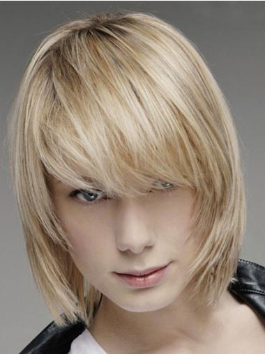 Lace Front Blonde Straight Cosy Men Wigs