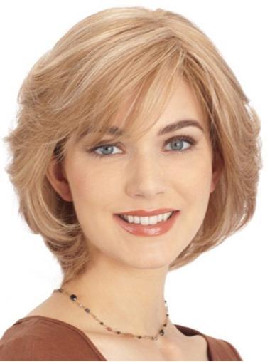 Monofilament Blonde Straight Suitable Lace Wigs