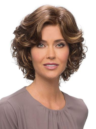 Lace Front Brown Wavy Fabulous Classic Wigs