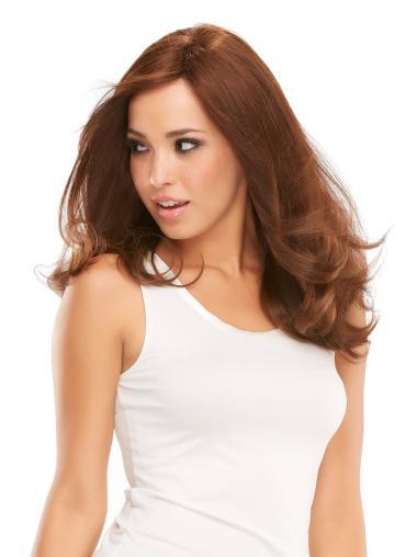 Monofilament Auburn Wavy Braw Full Lace Wigs