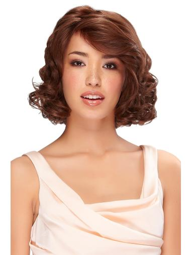 Monofilament Auburn Wavy Good Classic Wigs