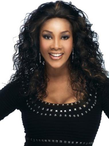 Lace Front Black Curly Wholesome Glueless Lace Front Wigs