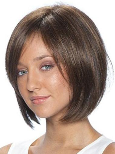 Lace Front Straight Brown Tempting Glueless Lace Wigs