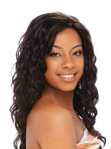 Lace Front Brown Curly Gentle Glueless Lace Front Wigs