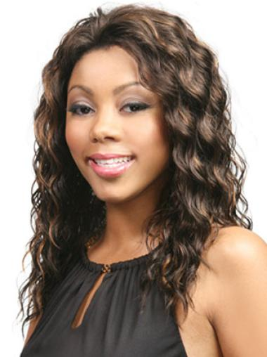 Lace Front Brown Wavy Easeful Glueless Lace Front Wigs