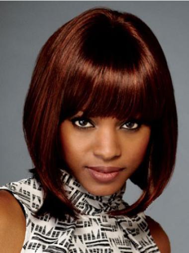 Lace Front Auburn Straight Impressive Wigs