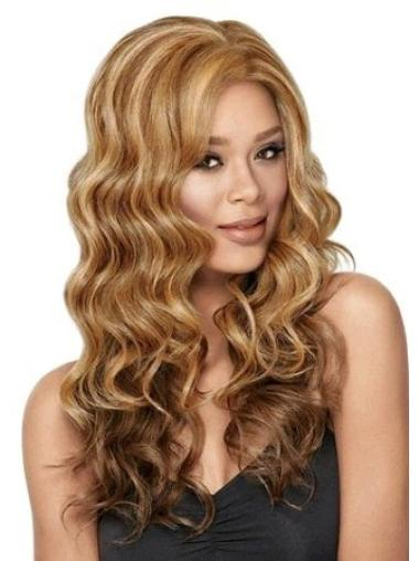 Lace Front Brown Wavy Cosy Glueless Lace Front Wigs