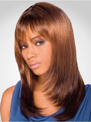 Lace Front Auburn Straight Top Wigs