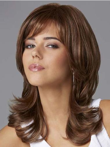 Lace Front Brown Wavy Best Glueless Lace Front Wigs
