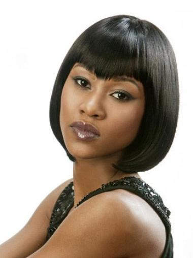 Lace Front Black Straight Online Glueless Lace Wigs