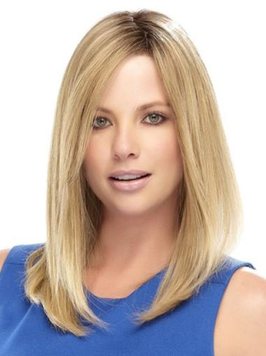 Lace Front Blonde Straight Sassy Celebrity Wigs