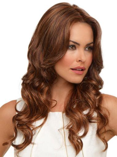 Lace Front Auburn Wavy Exquisite Synthetic Wigs