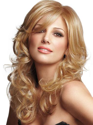 Stylish Lace Front Curly Synthetic Long Wigs