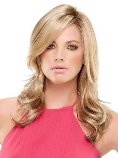 Pleasing Lace Front Wavy Synthetic Long Wigs