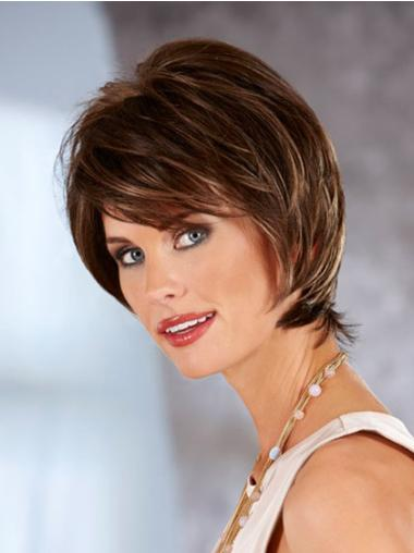 Lace Front Auburn Straight Fashionable Classic Wigs