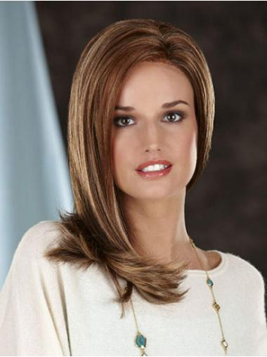 Lace Front Brown Straight Cheapest Synthetic Wigs