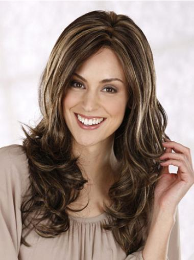 Impressive Lace Front Curly Synthetic Long Wigs