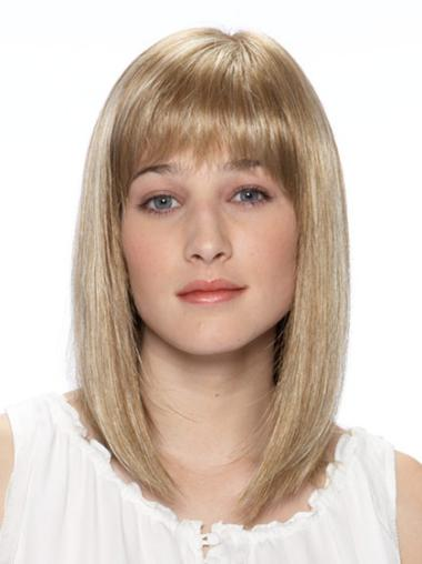 Blonde Bobs Straight Sassy Lace Wigs
