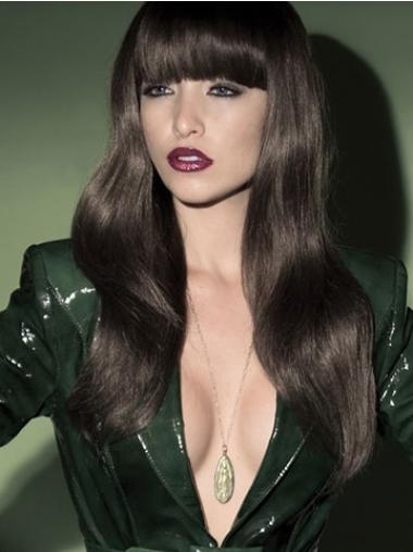 Durable Black Wavy Long Synthetic Wigs