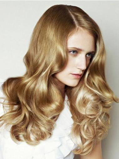 Mature Blonde Wavy Long Jessica Alba Wigs