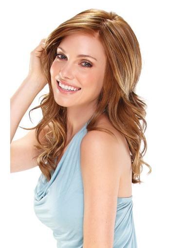 Monofilament Auburn Wavy Best Lace Front Wigs